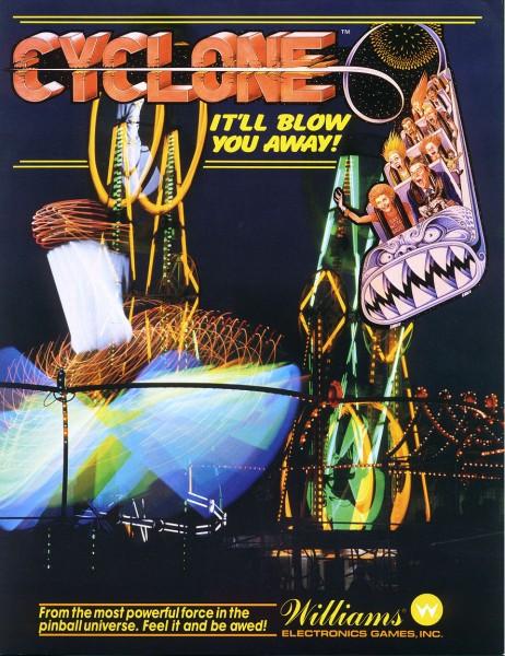 Cyclone Flipper Pinball