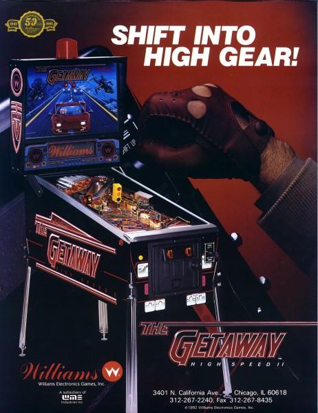 The Getaway: High Speed II Pinball