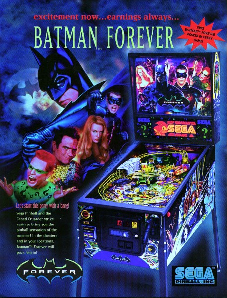 Batman For Ever Flipper/Pinball
