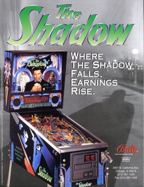 The Shadow Flipper Pinball