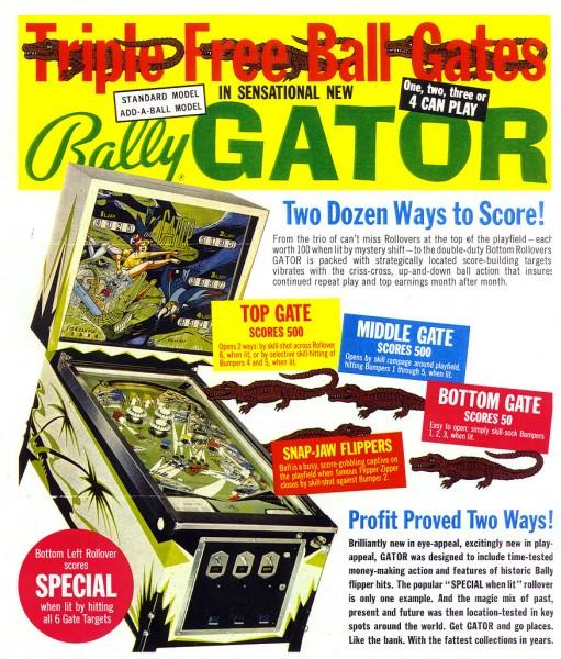 Gator Flipper/Pinball
