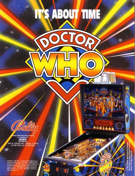 Dr Who Flipper Pinball