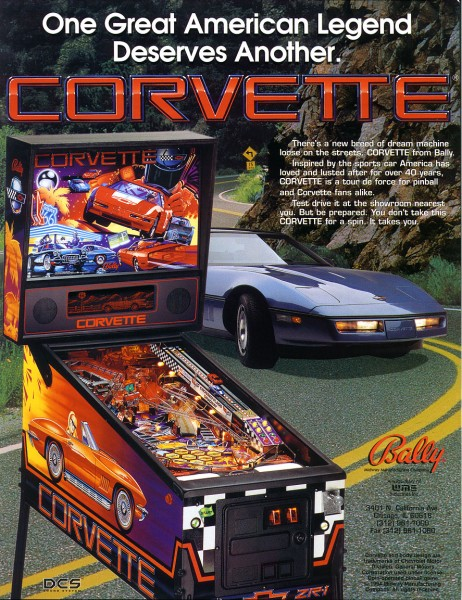 Corvette Flipper/Pinball