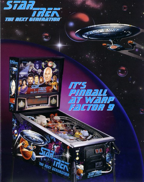 Star Trek The Next Generation.Flipper Pinball