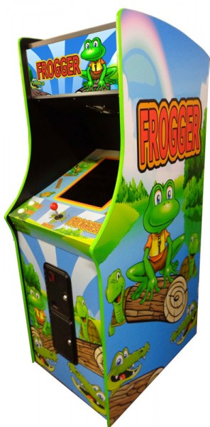Classic Frogger Arcade Spielautomat