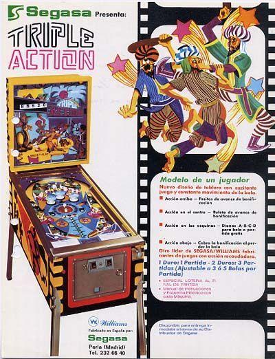 Trible Action Flipper/Pinball